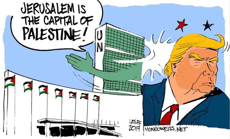 UN: JERUSALEM IS THE CAPITAL OF PALESTINE.