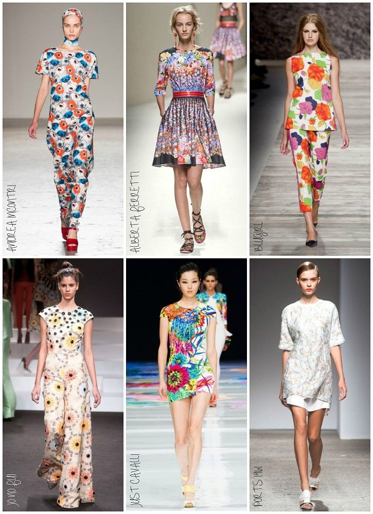 Milan Fashion Week Spring 2014 Day 2: Flower Power