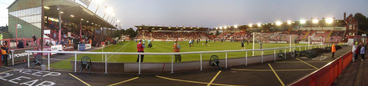 St James Park - Panoramic - Exeter City FC