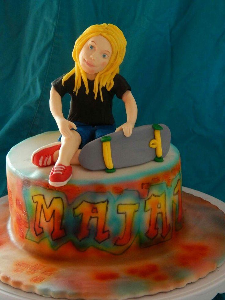 Tort dla fanki deskorolki :)