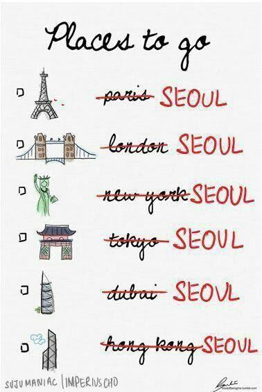 Take me to Seoul