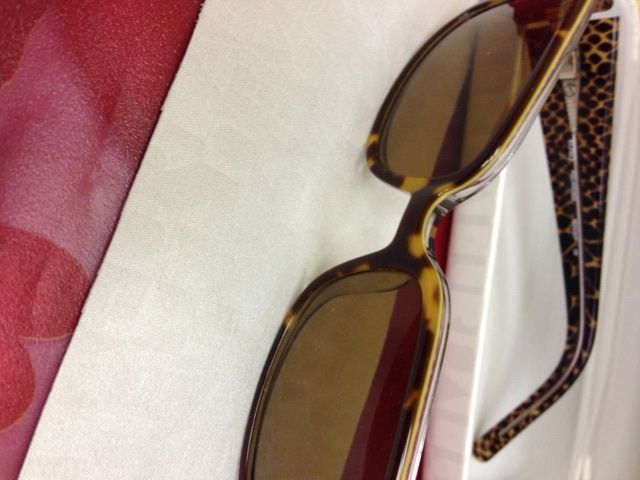 Furla XOXO Sunglasses, retail value $125. Donated by Marc Dignard of Clearview Eyewear.