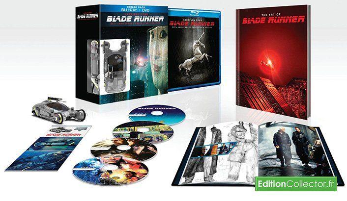 Coffret #BladeRunner Blu-ray + DVD + Figurine - Edition 30ème Anniversaire à 17€ ! 🎬 #bonplan
