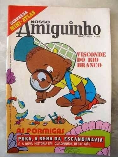 Revista Nosso Amiguinho 1975