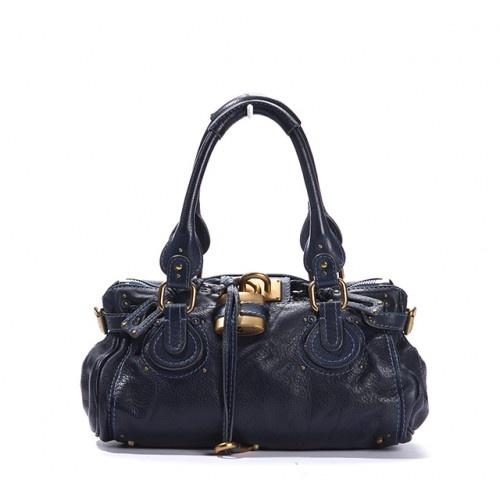 Chloe Navy Blue Leather Paddington Bag | Purse \u0026amp; Wallet obsession ...