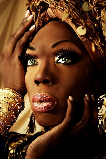 The beautiful Bebe Zahara Benet.