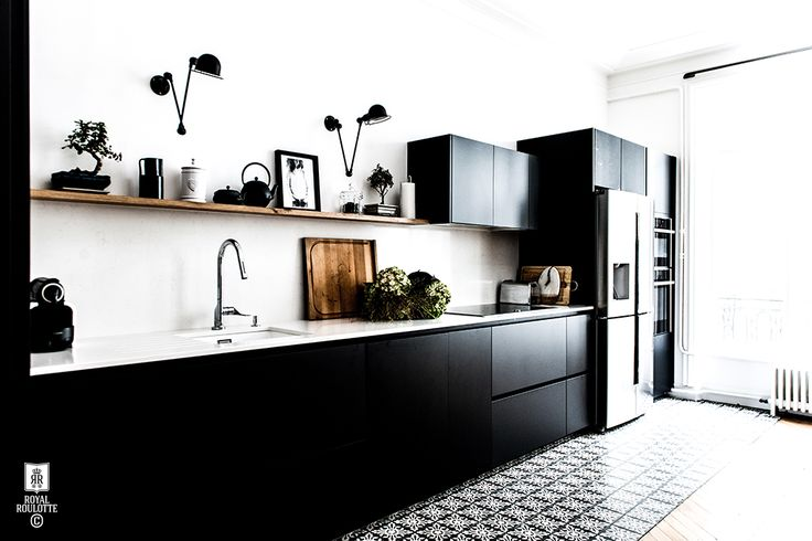 888 best Cuisine images on Pinterest Black kitchens, Kitchen - Taxe D Habitation Appartement Meuble