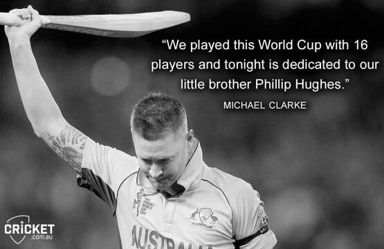 That is soo beautiful! Congratulations team Aus!! #CWC15 #Champions