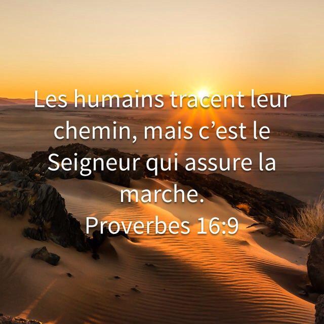 Françoise Longuemard a créé un verset illustré pour <b>Proverbes 16:9</b>   Bible.com