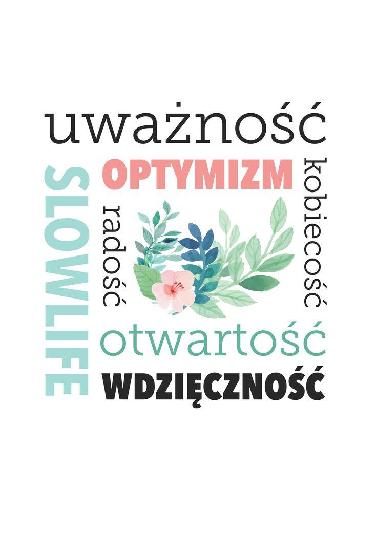 Nasze życiowe słowa klucze. Chcesz taki plakat otrzymać do druku? Napisz do nas: mampomysl@theideabox.pl