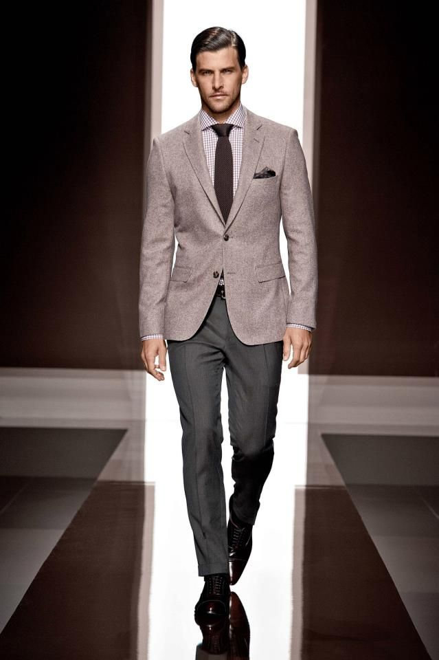 Hugo Boss Menswear 2015 Boss Mens Three Piece Suit