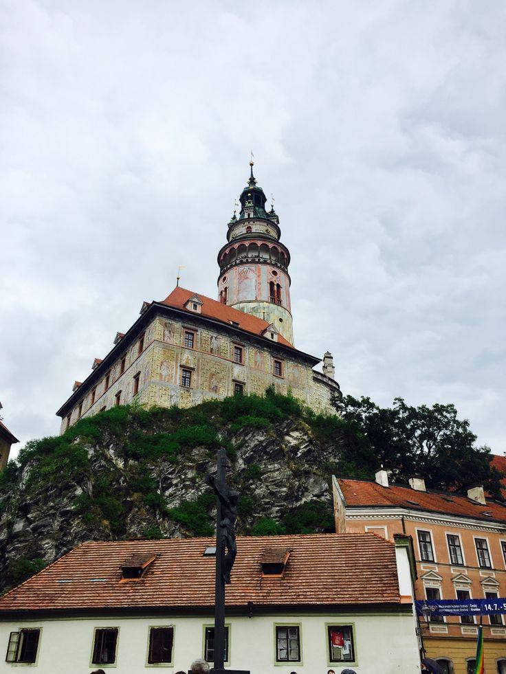 Český Krumlov. Chateau&Castle. UNESCO sight.