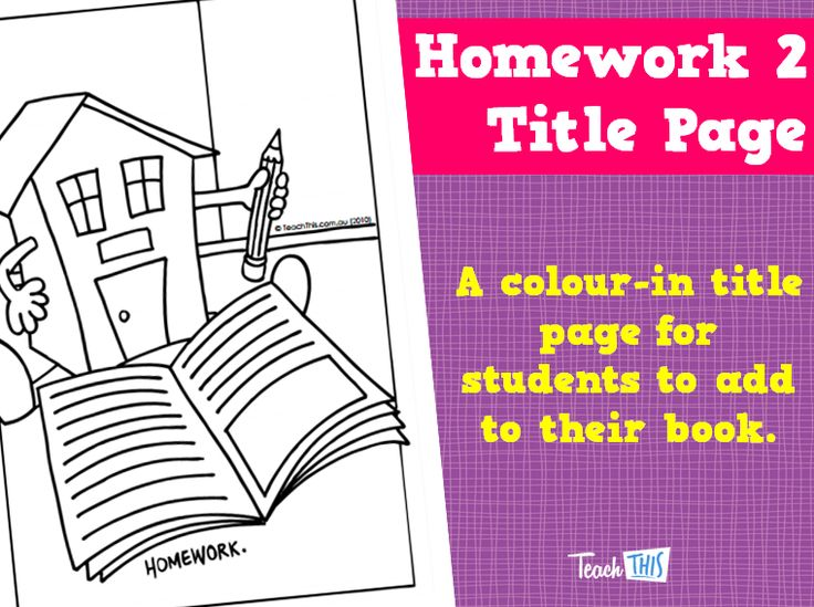 Homework Book Cover Ideas : Images about title pages on pinterest english