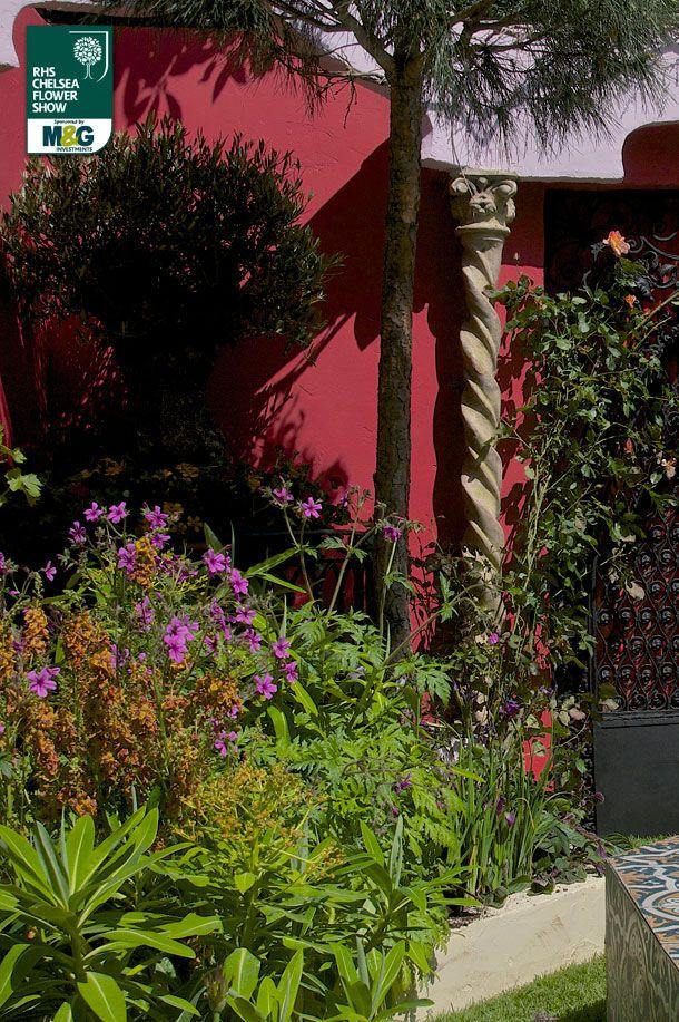 RHS Chelsea Flower Show - Artisan Garden - 75 Years of The Roof Gardens in Kensington The Roof Gardens David Lewis