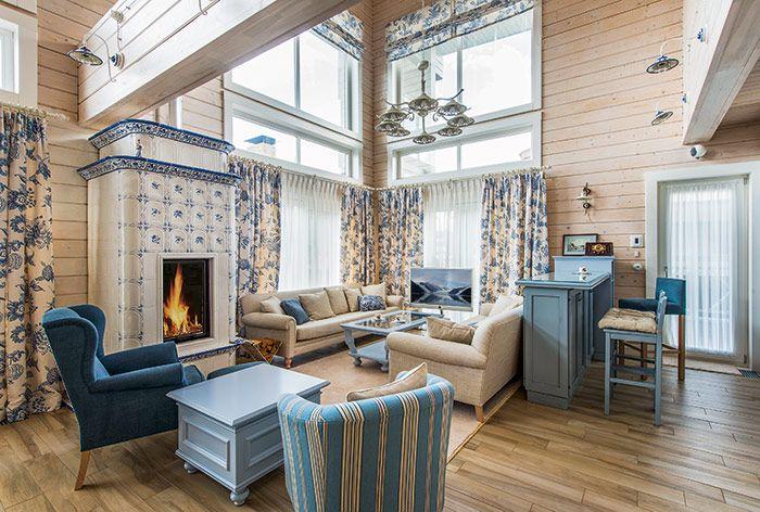 Журнал «Деревянные дома» | Дом из клееного бруса от компании «Вятский дом»…