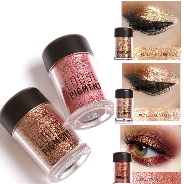 how to put on glitter eyeshadow