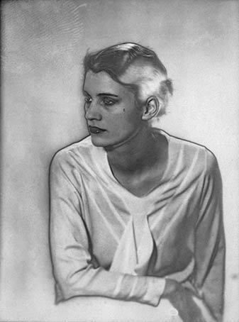 Lee Miller, Solarized Portrait, 1930 by Man Ray
