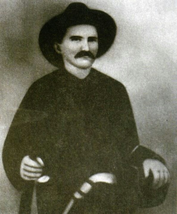 Frank Phillips, he shot and killed Devil Anse Hatfield uncle Vance and arrested other Hatfields for the murder of Randolph McCoys sons and he married Nancy McCoy after she divorced Johnse Hatfield.