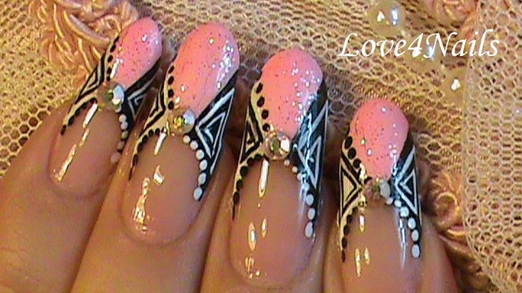 Nail Art Design Tutorial Soft Pink French Manicure