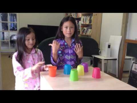 cup song with 6 cups - YouTube
