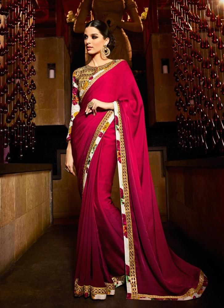 Partywear Wedding Bollywood New Designer Indian Sari ...