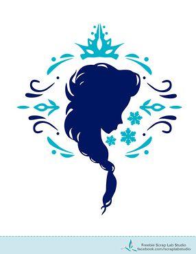 Frozen - Cartel Silueta.                                                                                                                                                                                 Más