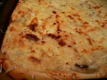 Smetanovo-sýrová pizza - brydova.cz Skvělá pizza, která je trochu jiná než klasické pizzy...