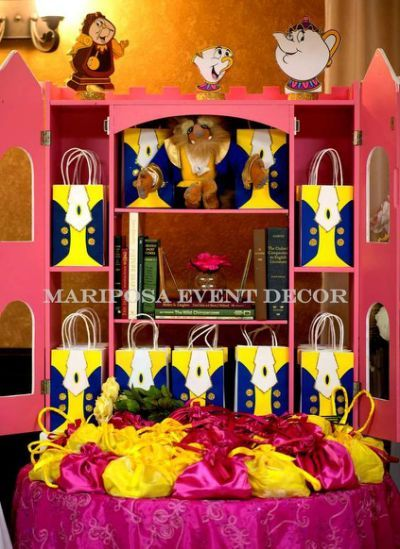 beauty and the beast birthday party decorations - Yahoo Search Results