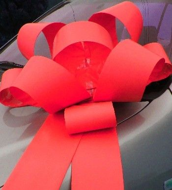 how to make a rosette bow with ribbon