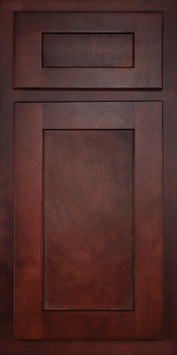 Birch Cabinets Kitchens Pinterest Stains Dark