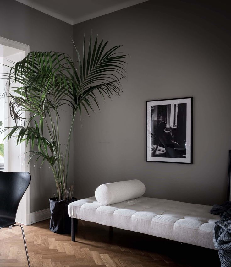 Home in grey with dark accents 16