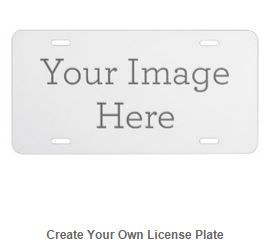 Express yourself with a custom front license plate to match your vanity plate! Create your designs from scratch or customize it with your images or text for a vibrantly printed license plate that will stand out. Made with aluminum, these plates are water-resistant and appropriate for operational use in states that do not require 2 plates. Great as a gift or for anyone who is licensed to drive!