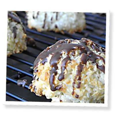 Coconut Macaroons. If you're a fan of coconut, these little cookies will be right up your alley! Coconut macaroons are a delicious and light cookie made... Click image for the full recipe!