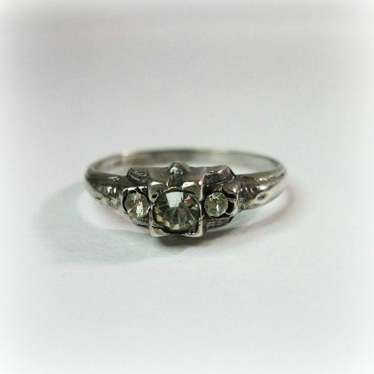 Best Vintage Engagement Wedding Rings Images On Pinterest