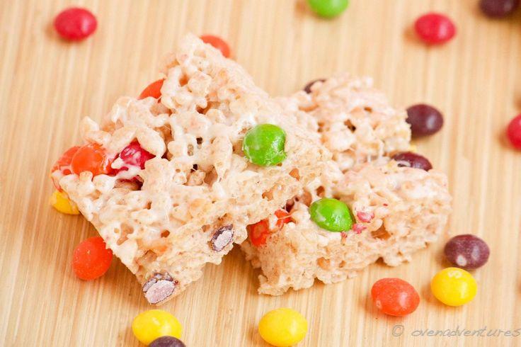 Skittles Rice Krispie Treats