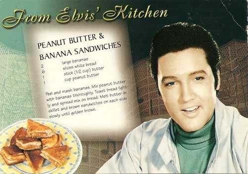 Elvis' Peanut Butter and Banana Sandwiches