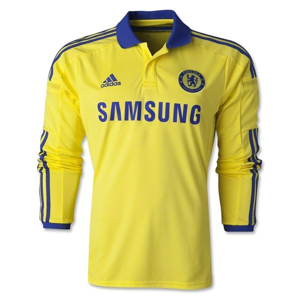 9b8dafea04e91 low price 201415 chelsea fc 26 terry away yellow soccer shirt kit ...