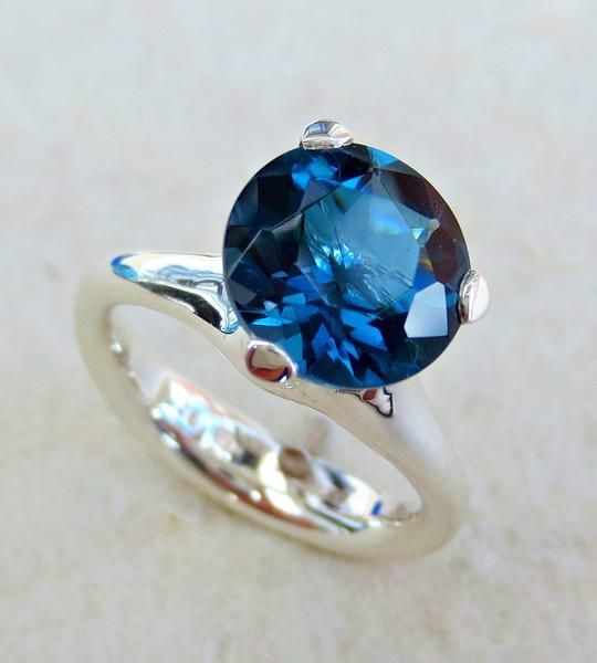 """Decidedly sinful but elegantly simple.  This is the kind of """"princess"""" rings you would have dreamed about as a little girl.  