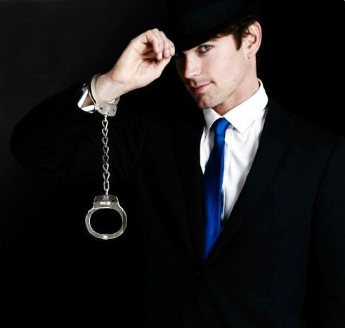Matt Bomer as Neal Caffrey in the show White Collar