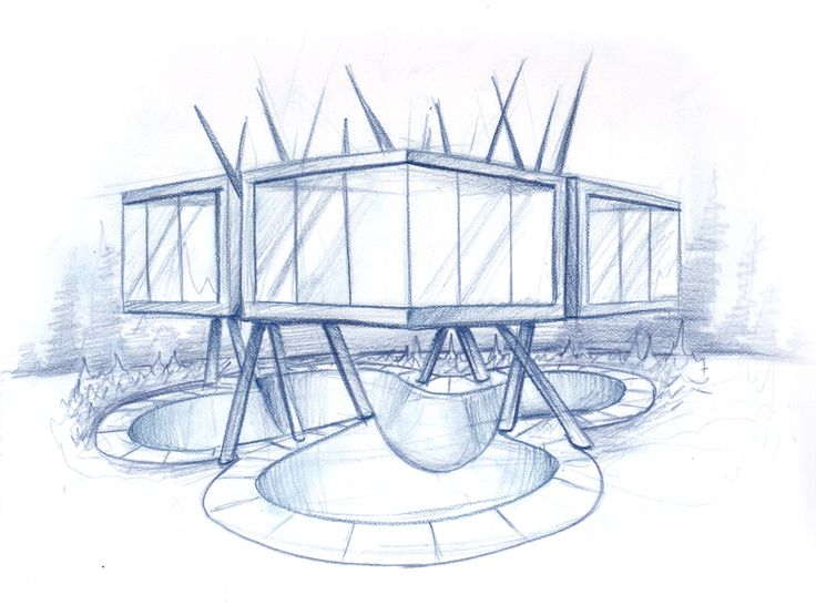 Modern Home Architecture Sketches 72 best sketches images on pinterest | architecture models