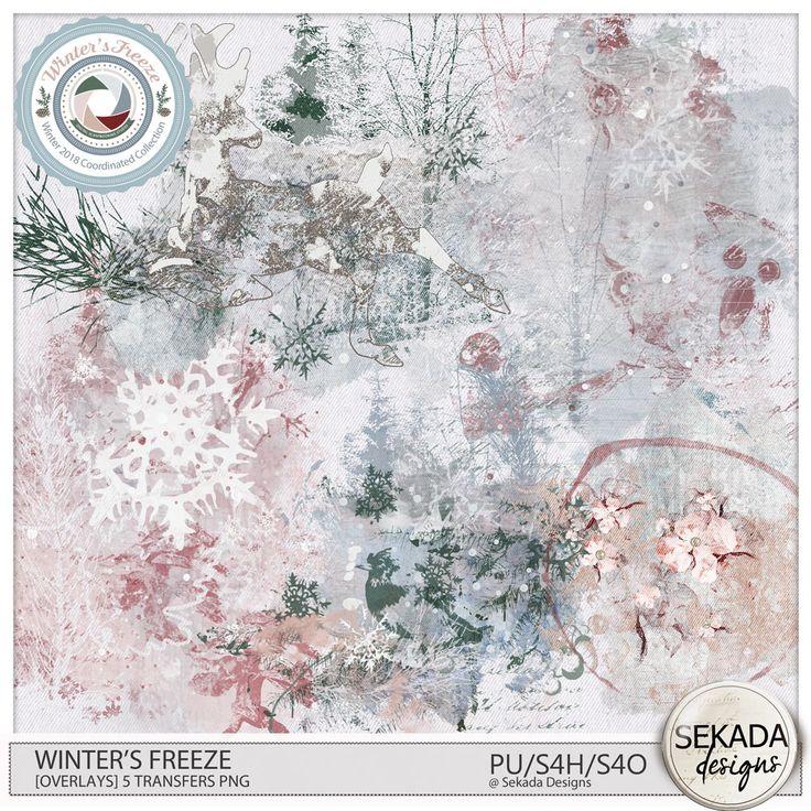Digital Art :: Element Packs :: Winters Freeze [Overlays] by Sekada Designs