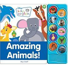 Play-a-Sound Book: Baby Einstein - Amazing Animals! - English Edition