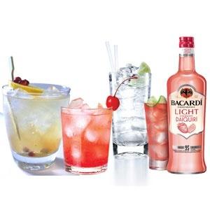 Low-Cal Liquors for the Summer Season