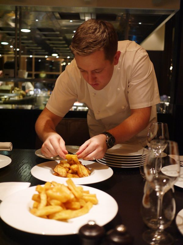 The Londoner » Heston's Triple Cooked Chips // Rosie's Once Cooked Chips