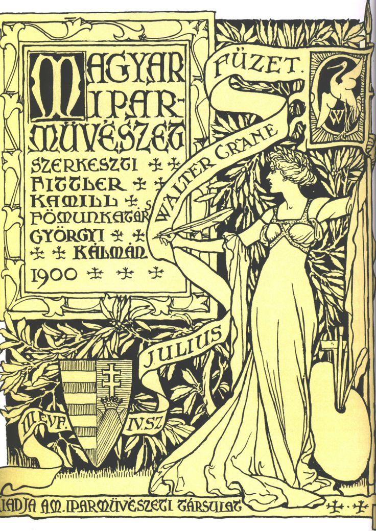Walter Crane, ilustro esencialmente los toy-books, su obra ejerció influencia en Lewis Carroll