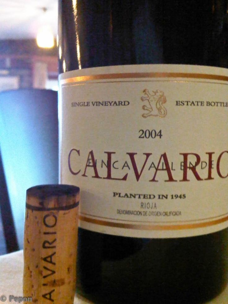 Calvario 2004. Qué vinazo !!!