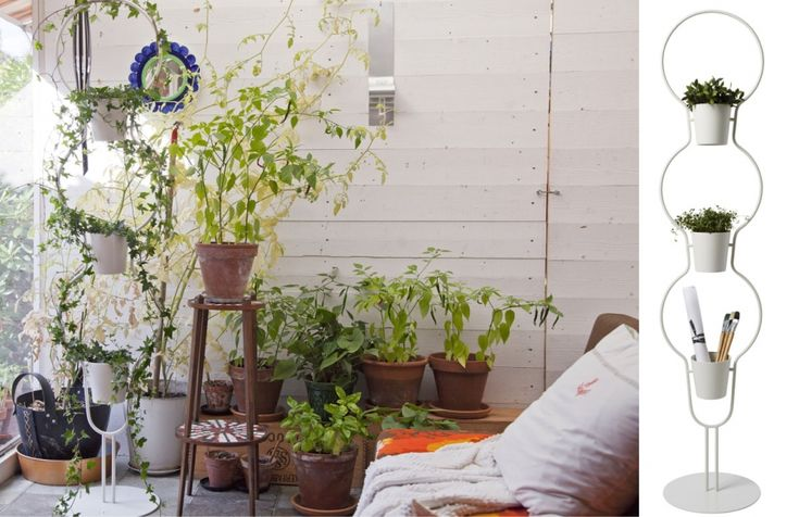 15 solutions pour cr er un jardin vertical ps for Meuble porte plante ikea