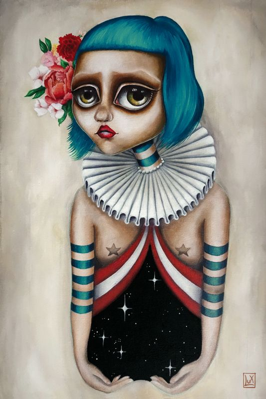 Circus Universe by Lux #oil #painting #surrealism #surreal #circus #popsurreal #lowbrown
