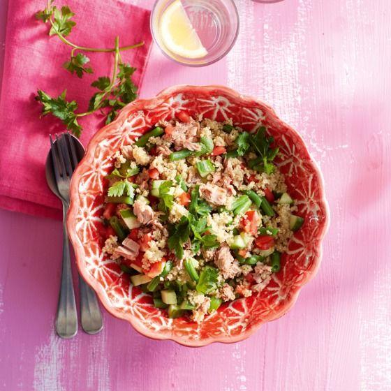 Het recept van de dag is: Mediterrane quinoasalade met tonijn!
