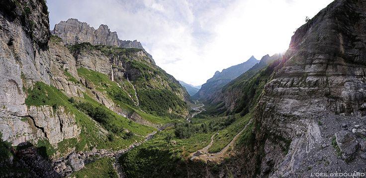 Montagne Bout du Monde Cirque Sixt-Fer-à-Cheval Giffre Haute-Savoie Alpes France Mountain Alps Photographie de Paysage Landscape